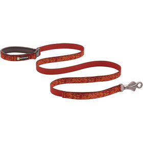 Ruffwear Flat Out Leash, ember distortion
